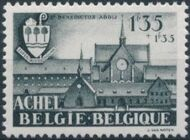 Belgium 1948 Surtax to aid the Abbey of the Trappist Fathers at Achel b