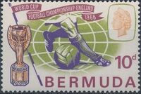 Bermuda 1966 World Cup Soccer b
