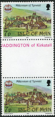 Isle of Man 1979 1000th Anniversary of the Tynwald Parlament GPe