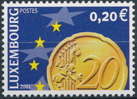 Luxembourg 2001 Euro-Coins c