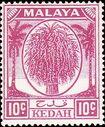 Malaya-Kedah 1950 Definitives g