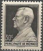 Monaco 1948 Prince Louis II of Monaco (1870-1949) a