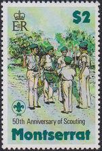 Montserrat 1979 50th Anniversary of Scouting in Montserrat d