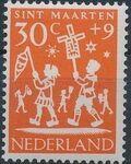 Netherlands 1961 Child Welfare Surtax e