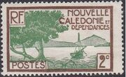 New Caledonia 1928 Definitives b