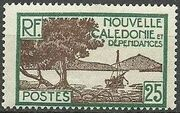 New Caledonia 1928 Definitives h