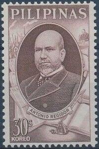 Philippines 1966 Antonio Regidor Commemoration b