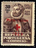 Portugal 1929 Red Cross - 400th Birth Anniversary of Camões a