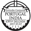 Portugal 2017 Portugal-India Joint Issue PMd