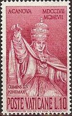 Vatican City 1958 Bicentenary of the Birth of Antonio Canova b