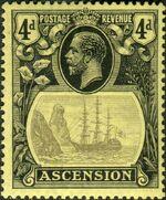 Ascension 1924 Seal of the Colony fa