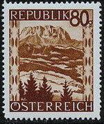 Austria 1946 Landscapes (II) n