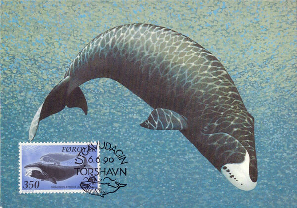 Faroe Islands 1990 WWF - Whales r