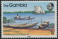 Gambia 1983 River Boats a