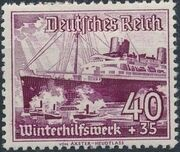 Germany-Third Reich 1937 Winter's Fund - Ships i