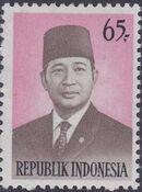Indonesia 1974 President Suharto - Definitives c