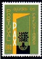 Portugal 1960 International Year of Refugees c