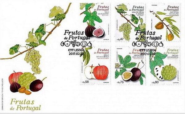 Portugal 2017 Fruits of Portugal II FDCa