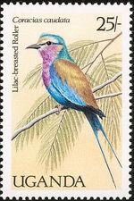 Uganda 1987 Birds of Uganda d