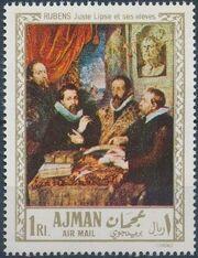 Ajman 1968 Paintings c