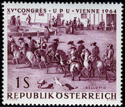 Austria 1964 15th UPU Congress in Vienna a