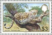Belize 1983 WWF - Jaguar e