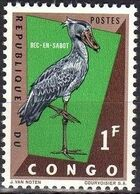 Congo, Democratic Republic of 1963 Protected Birds (1st Group) a