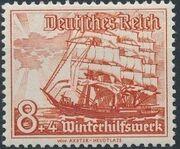 Germany-Third Reich 1937 Winter's Fund - Ships e