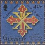 Gibraltar 2003 1700th Anniversary of St. George b