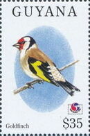 Guyana 1994 Birds of the World (PHILAKOREA '94) u