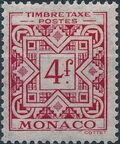 Monaco 1946 Postage Due Stamps g