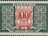 Monaco 1957 Postage Due Stamps