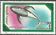 Mongolia 1990 Marine Mammals b