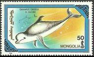 Mongolia 1990 Marine Mammals d