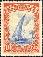 Mozambique company 1937 Assorted designs c
