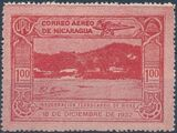Nicaragua 1932 Inauguration of the Railroad from San Jorge to San Juan del Sur (Airmail) e