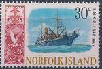 Norfolk Island 1968 Ships - Definitives (4th Issue) i