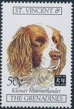 St Vincent and the Grenadines 1994 Chinese New Year - Year of the Dog r