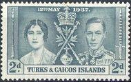 Turks and Caicos Islands 1937 George VI Coronation b