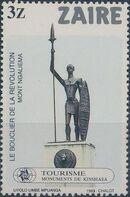 Zaire 1983 Tourisme - Kinshasa Monuments d