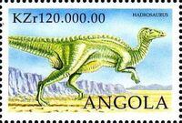 Angola 1998 Prehistoric Animals (3rd Group) a