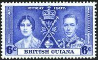 British Guiana 1937 George VI Coronation c