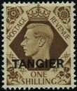 "British Offices in Tangier 1949 King George VI Overprinted ""TANGIER"" l"