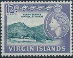 British Virgin Islands 1964 Queen Elizabeth II and Views i