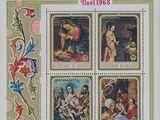 Burundi 1968 Christmas (Air Post Stamps)