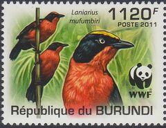 Burundi 2011 WWF Papyrus Gonolek c
