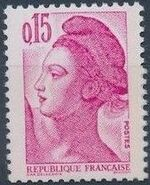 France 1982 Liberty after Delacroix (1st Issue) c