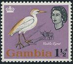 Gambia 1963 Birds c
