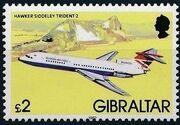 Gibraltar 1982 Airplanes n