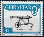 Gibraltar 1987 Guns and Artillery k